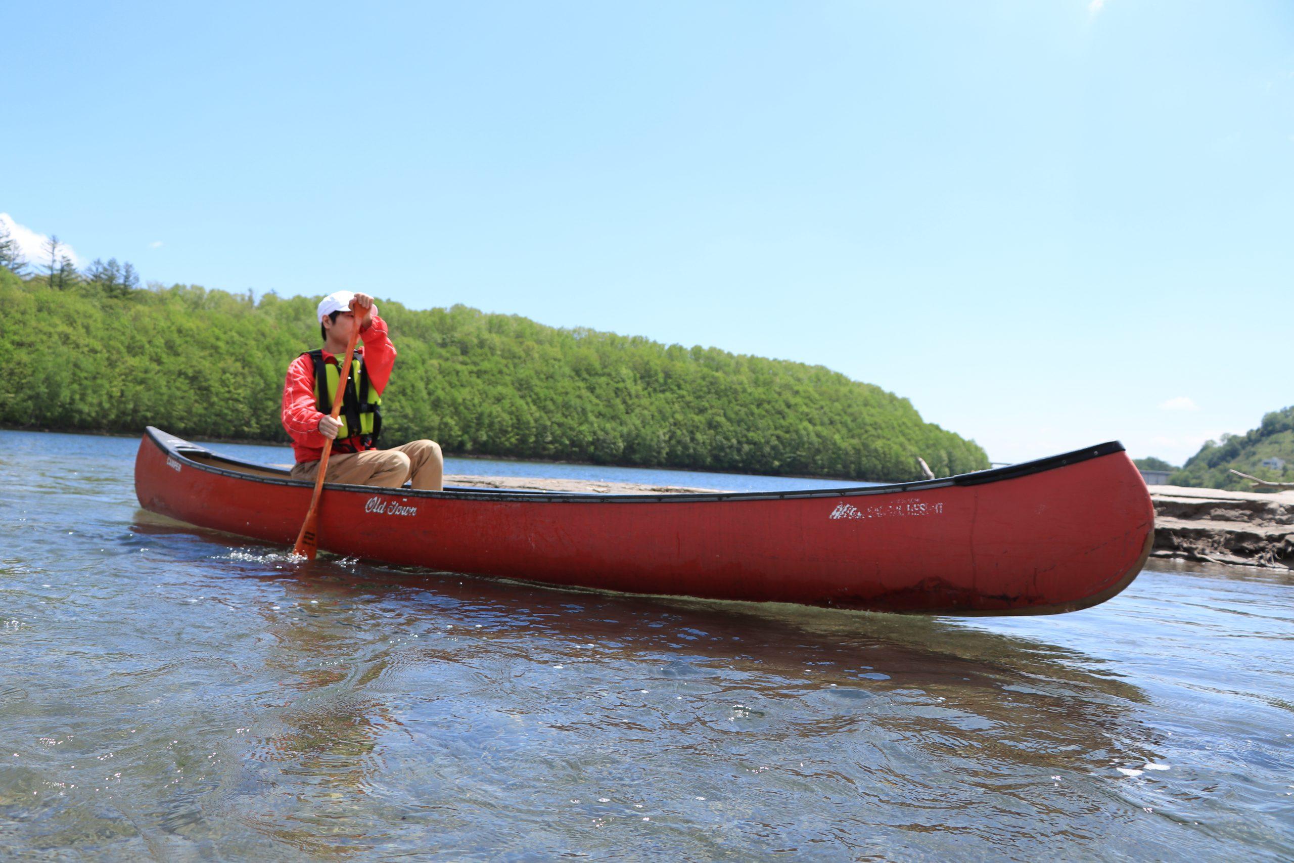 Lake Sahoro canoe