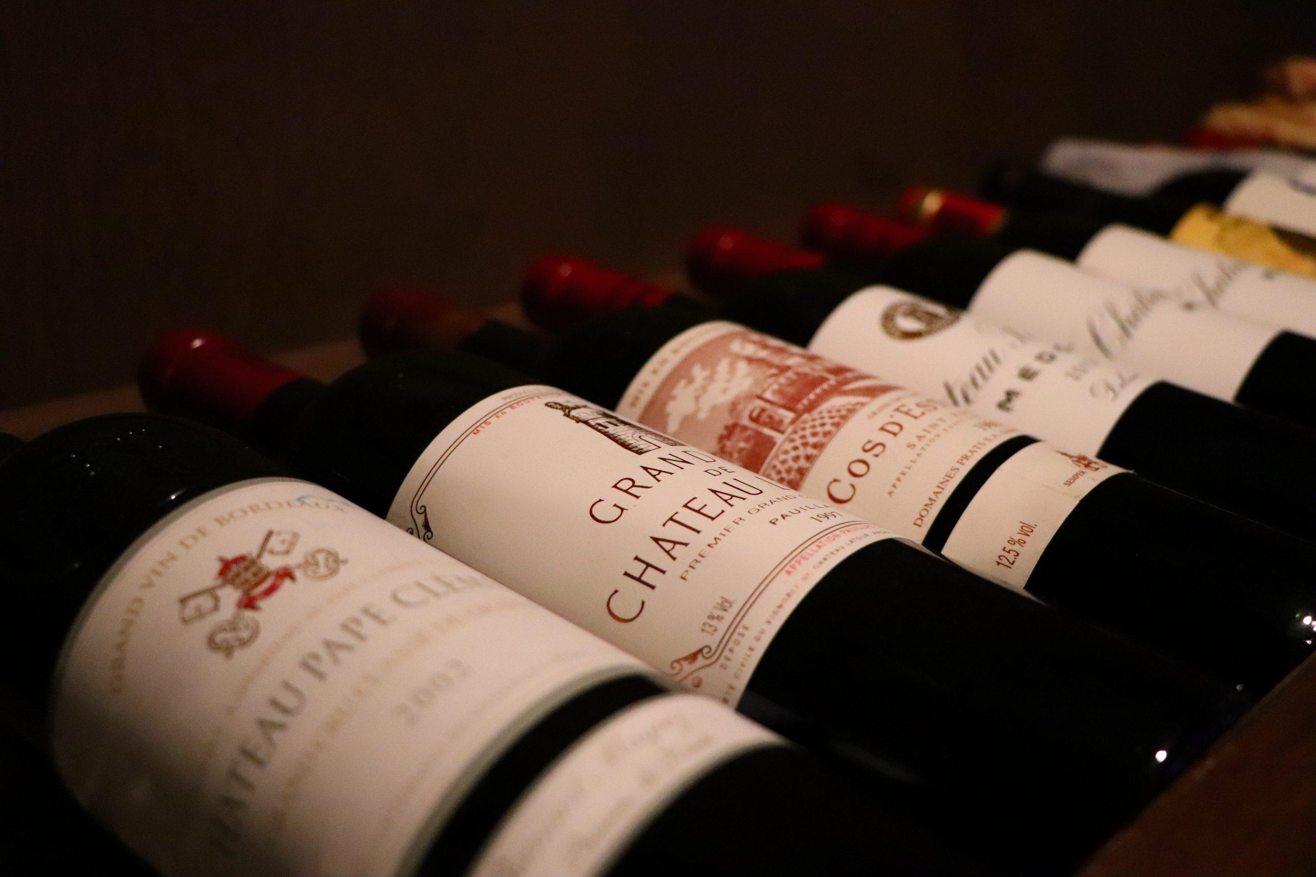 """와인 """"la cave"""""""